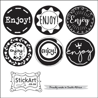 Enjoy! Stickers
