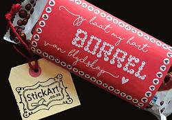 Aero Chocolate Valentine wrapper