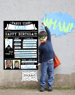 StickArt Party Poster