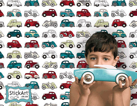 Vintage Cars Interactive Wallpaper