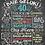 Thumbnail: Birthday Chalkboard Poster