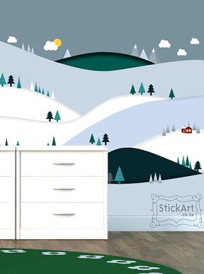 SnowScape Wallpaper