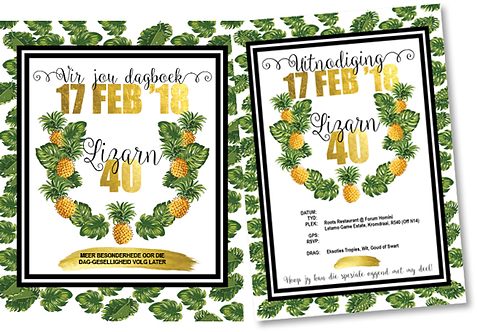 Save the Date + Invitation Combo