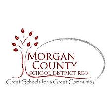morgan county school district re-3 partner logo