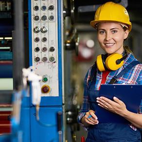 Manufacturing - A man's world.
