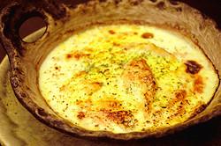 山芋の明太チーズ焼き 730円