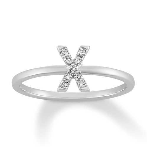 Initial X Ring