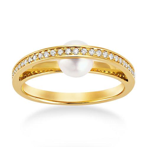 Revel Single Pearl Ring