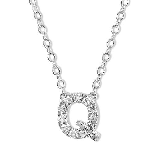 Initial Q Necklace