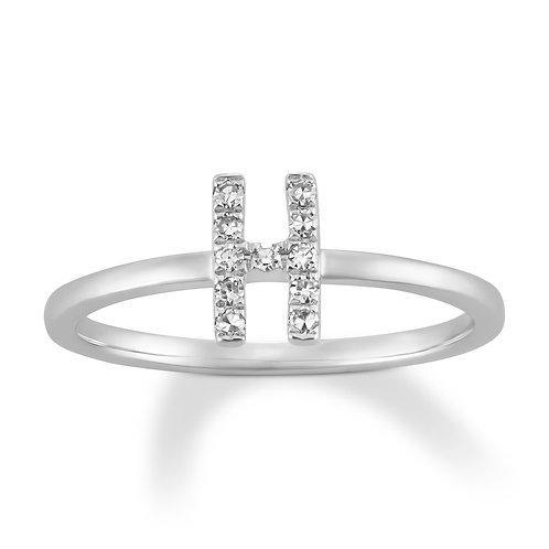 Initial H Ring