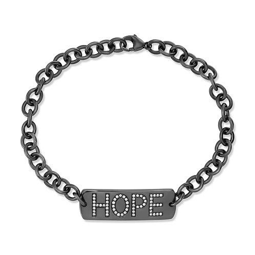 V Noir Hope Bracelet