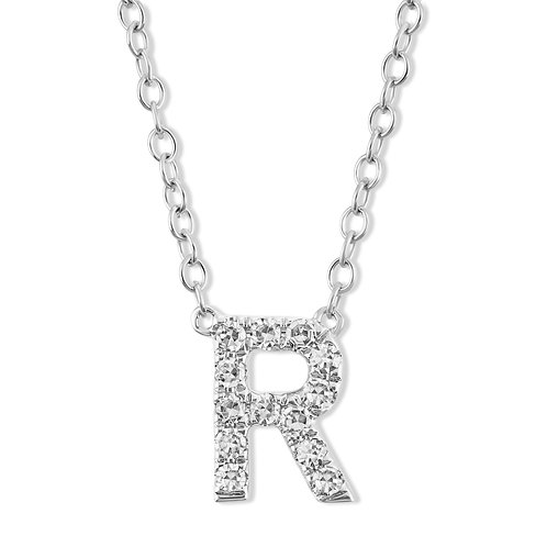 Initial R Necklace
