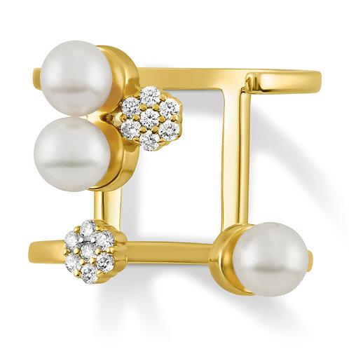 Revel Pearl Open Cluster Ring