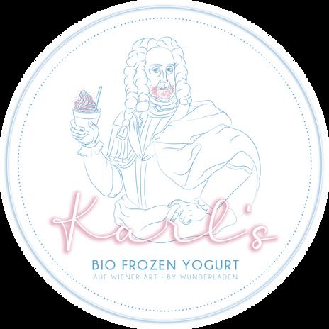 Karls BIO Frozen Yogurt auf Wiener Art