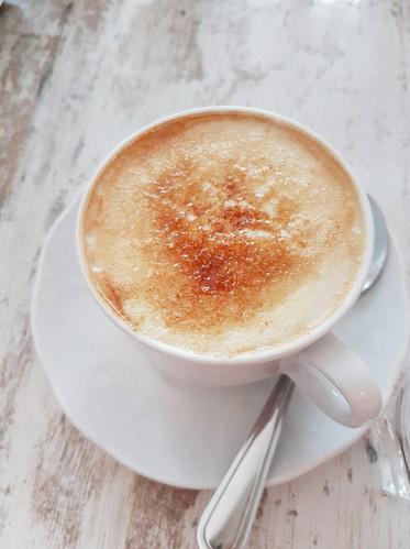 "Unser berühmter ""Café Brûlee"""