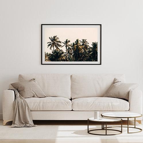 Goodkid Premium Poster - Palmen Wandbild Wohnzimmer, Schlafzimmer