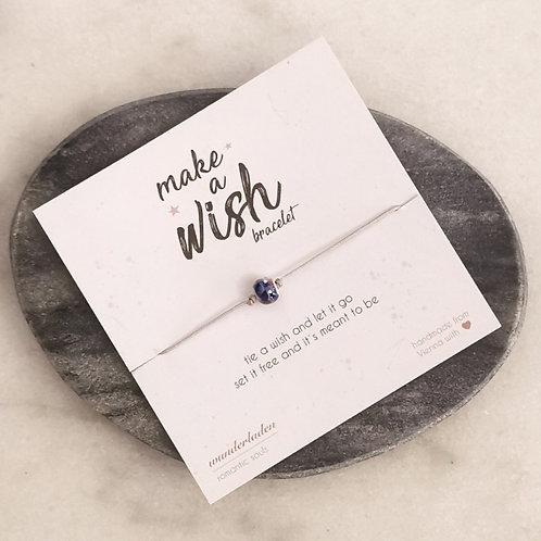 """Make a wish""-Armbändchen"