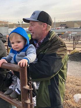 Ralph Kaehler and Grandbaby