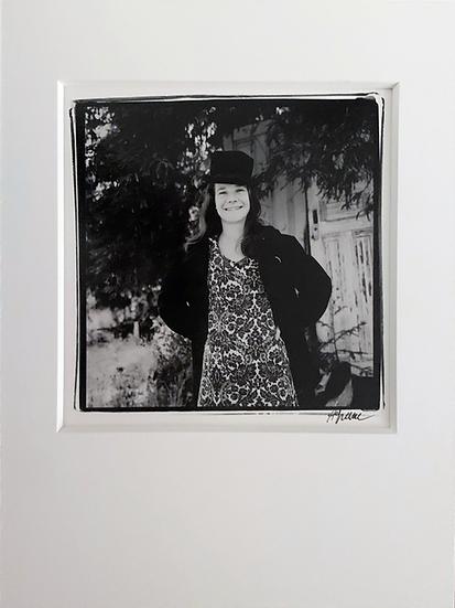 "Janis Joplin - 8-1/2"" x 11"" Mat"