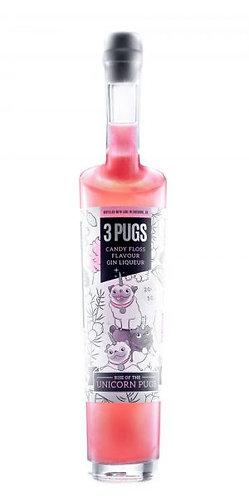 3 Pugs Candy Floss Flavoured Gin Liquor