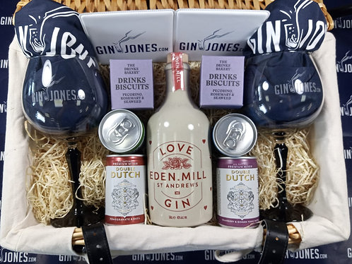 Eden Mill Love Gin Two Glass Hamper