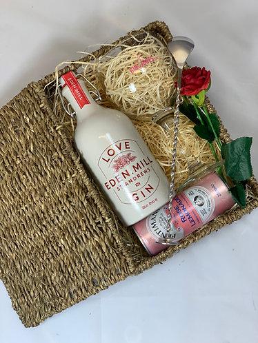 Eden Mill Love Gin Valentines Hamper