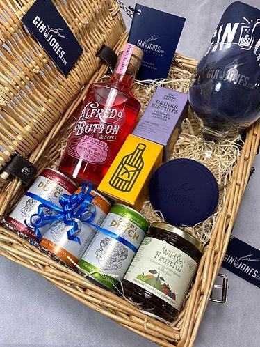 Alfred Button Rhubarb & Rosehip Premium Gin Hamper