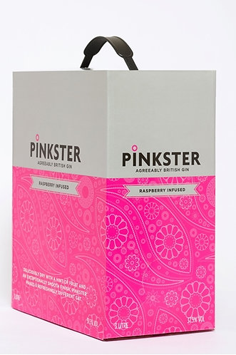 Pinkster On Tap 3 Litre Gin box