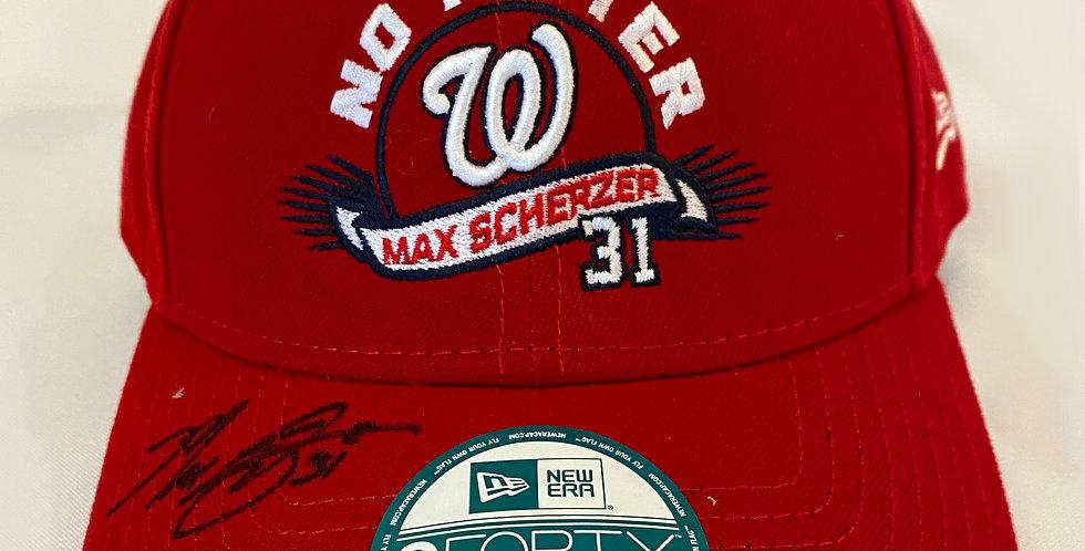Max Scherzer No Hitter Hat