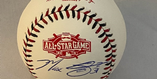 Autographed 2015 All Star Game Ball