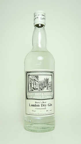Berry Brothers & Rudd Berry's best Unsweetened London Dry Gin