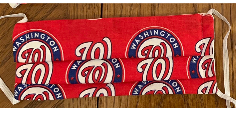 Nats Curly W Mask