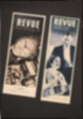 Old Revue Thommen Advertising Poster
