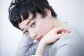 ウエットでオシャレな黒髪ショートスタイル☆