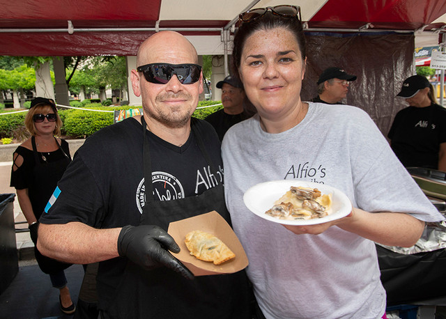 Jenn and Alfio Taste of Cincinnati
