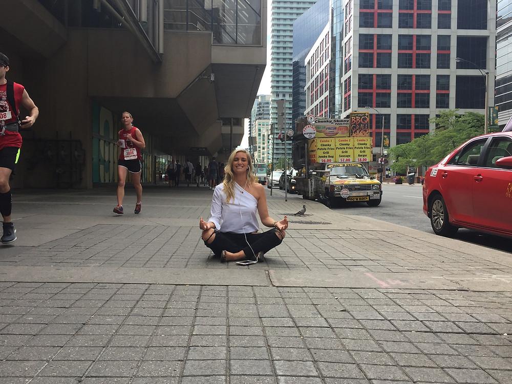 Meditating Ninja: Kim Fitzpatrick