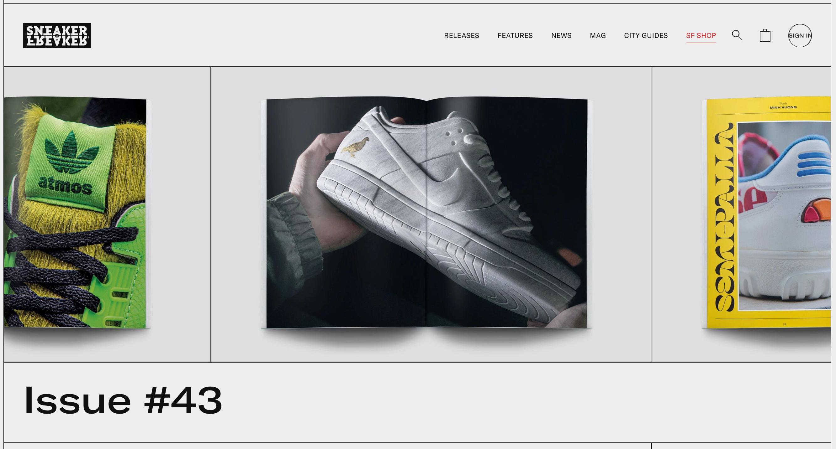 Sneaker Freaker Mag