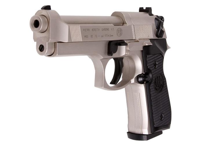 Beretta-92FS-Nickel-Black