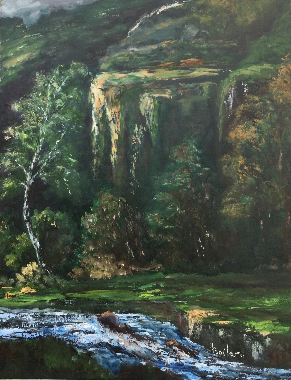 Jura inspiré par toile de Courbet
