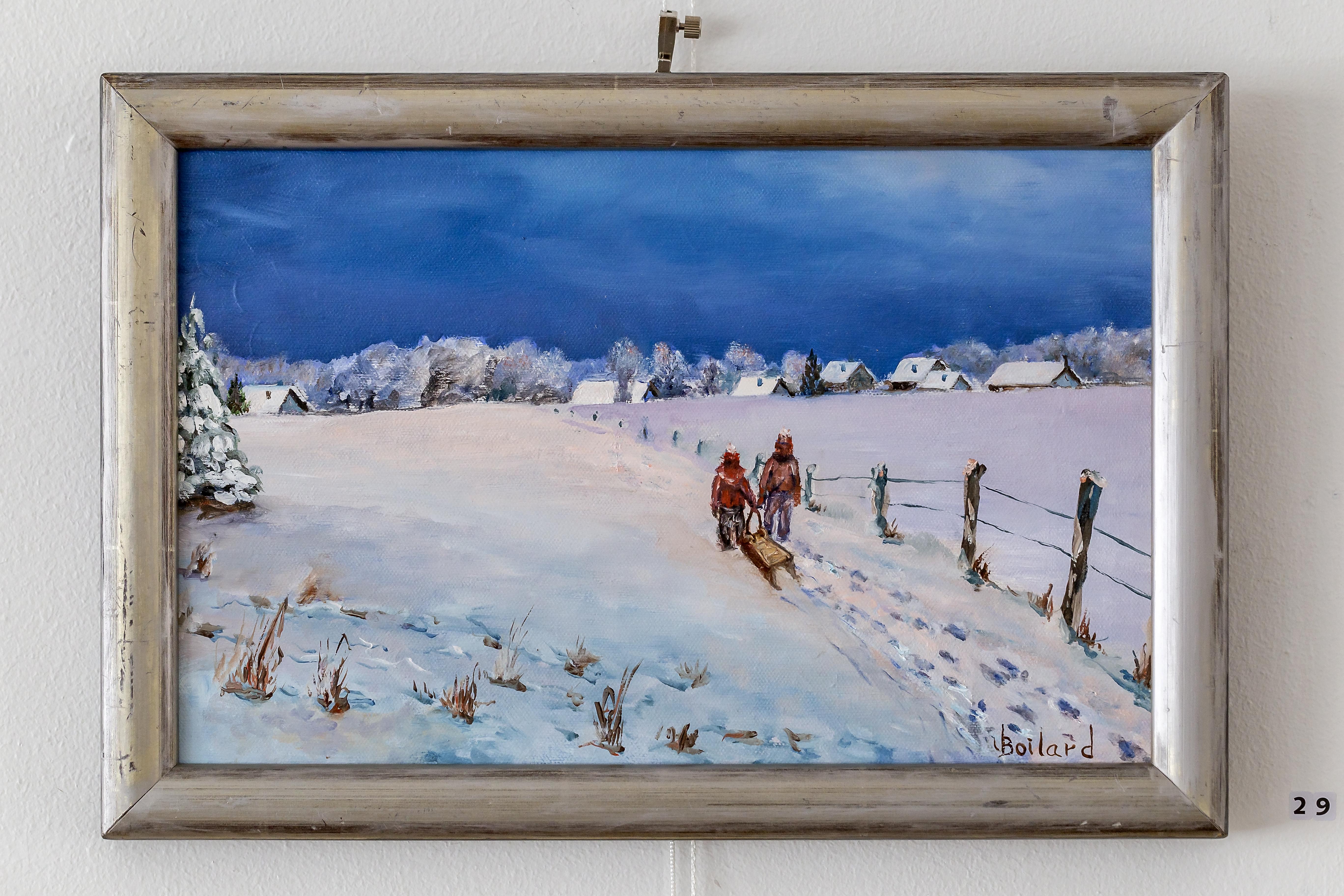Joie de l'hiver au Québec