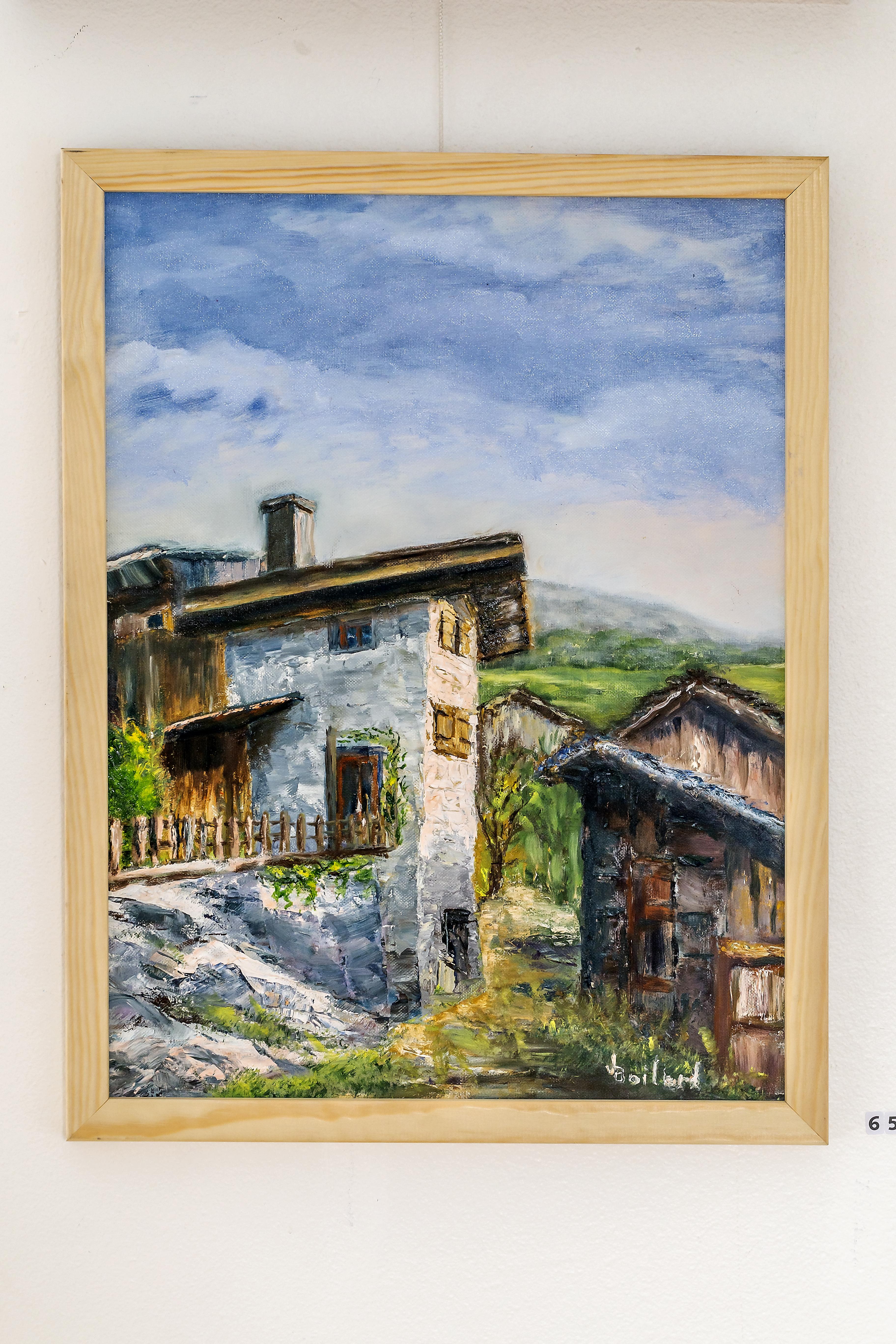 Maison vigneronne en Valais