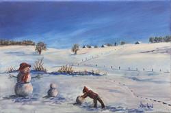 Plaisir d'hiver à Ecoteaux
