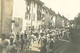 Turnverein beim Festumzug in Gailingen.j