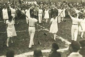Schauturnen in Stahringen Anfang der 30e