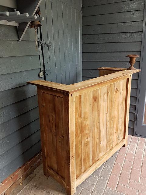 Rustic Shop Retail Till Reception Area Counter Home Drinks Bar Freestanding