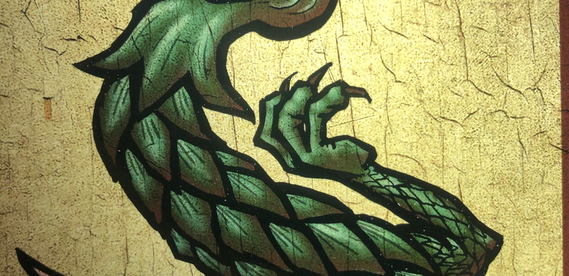Satoshi Time Traveler-Dragon Detail