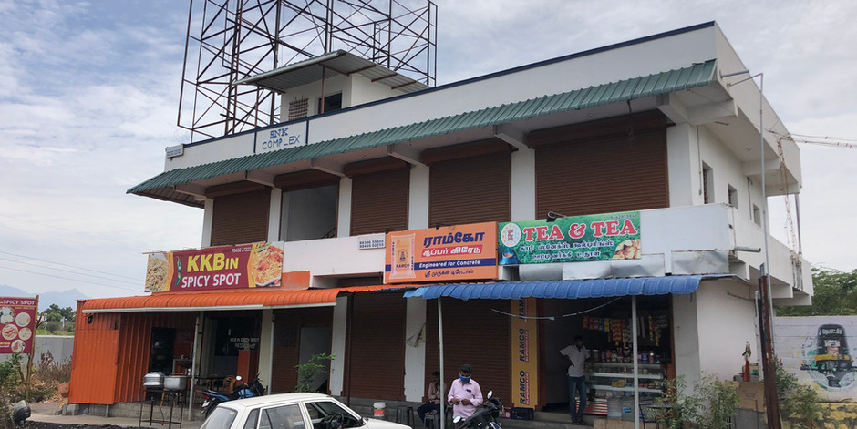 COMMERCIAL COMPLEX FOR MR. PUSHPANATHAN