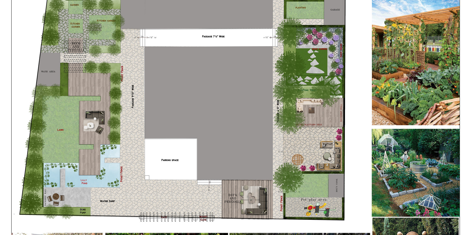 PROPOSED - LANDSCAPING