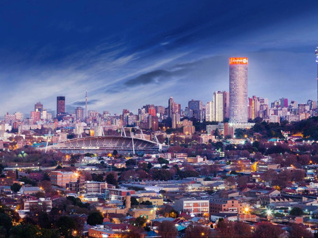 New Year. New City. Johannesburg..