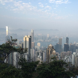 The view from the peak! #victoriapeak